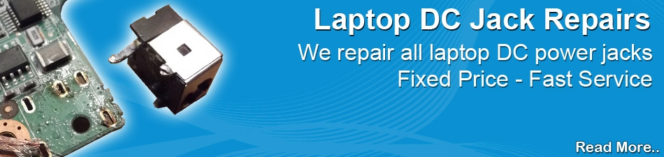Laptop DC Jack Repairs